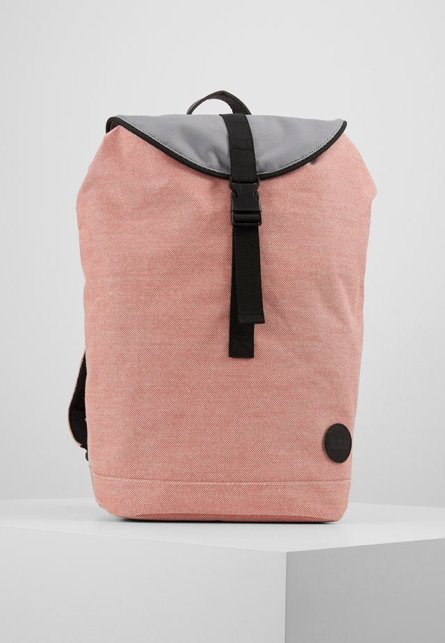 COMPACT CITY HIKER - Rucksack - melange red/grey