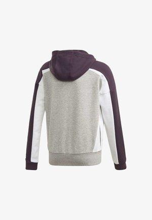 BOLD FULL-ZIP HOODIE - Zip-up hoodie - grey