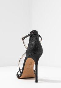 Pura Lopez - Sandalen met hoge hak - glitter black - 5