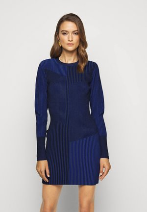 LONG SLEEVE MINI DRESS - Robe d'été - sapphire