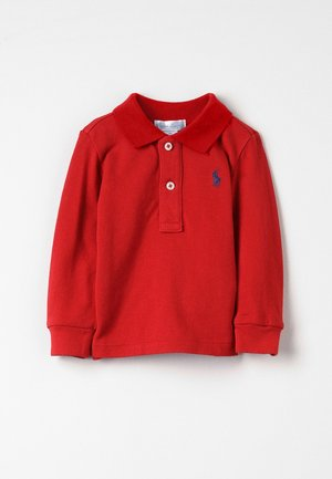 Polo shirt - faded red