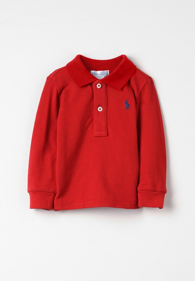 Polo - faded red