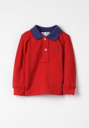 Poloshirt - faded red
