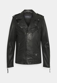 Oakwood - SOLDIER - Leather jacket - black - 8