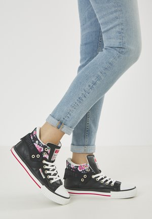 ROCO - Sneakers basse - black/flower