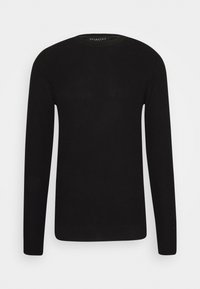 Selected Homme - SLHCORNELIUS STRUCTURE CREW NECK - Stickad tröja - black - 3