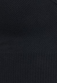 Cotton On Body - LIFESTYLE SEAMLESS V NECK CROP - Sports bra - black chevron - 2