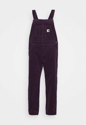 OVERALL STRAIGHT - Dungarees - boysenberry