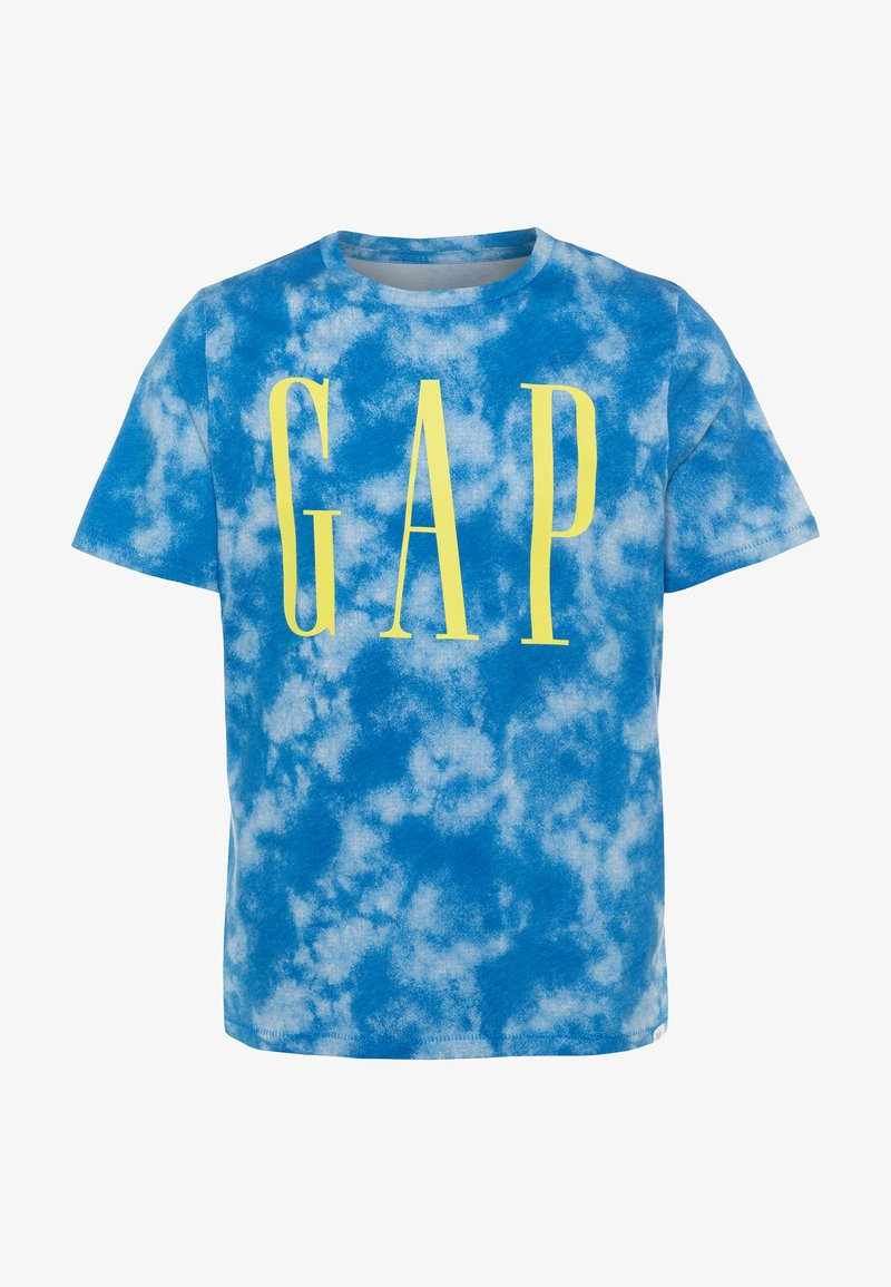 GAP - BOY LOGOMANIA - Print T-shirt - blue