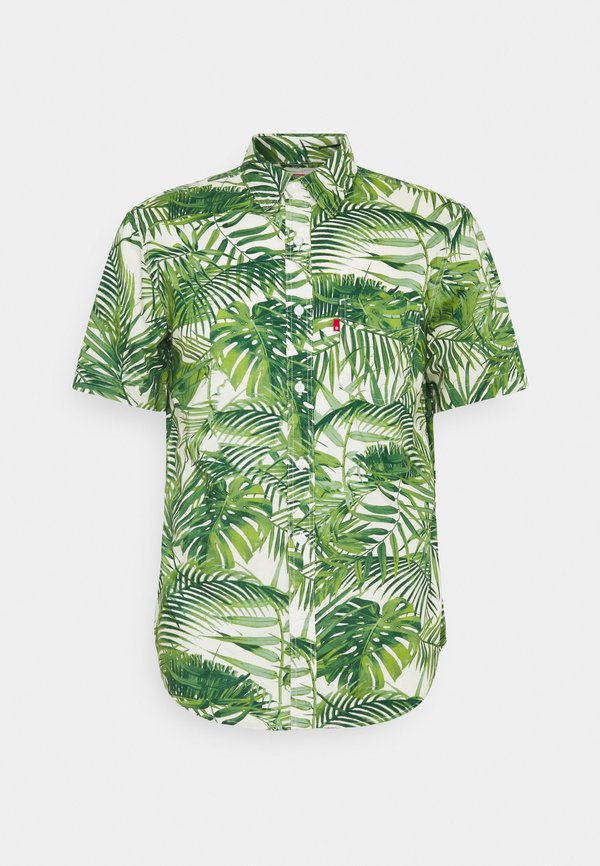 Levi's® SUNSET - Koszula - neutrals/zielony Odzież Męska ZLPG