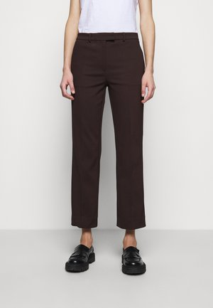 NOORA - Trousers - dusty brown