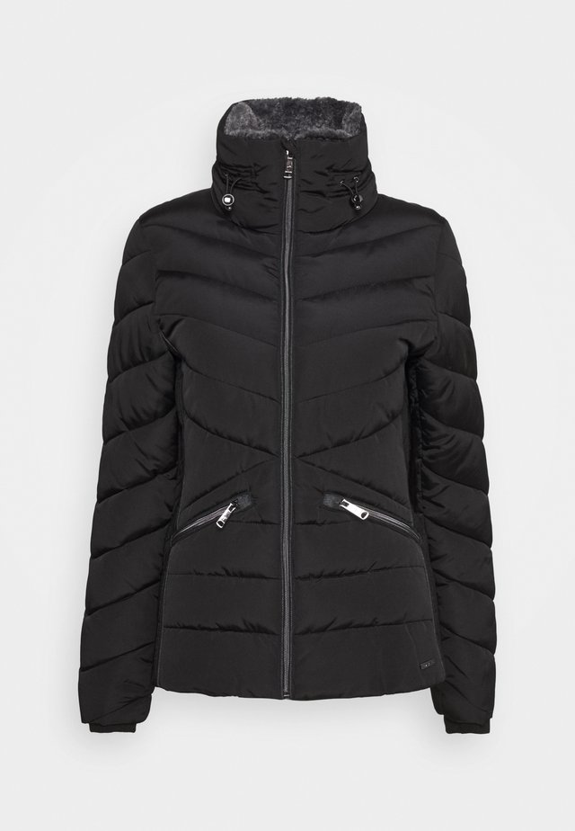 WINTERLY PUFFER JACKET - Abrigo de invierno - deep black