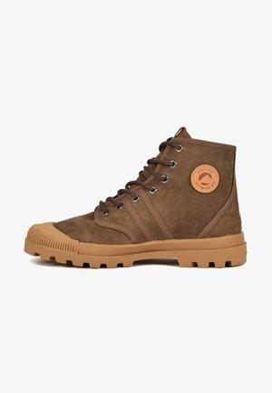 ORIGINALE/S H4G - Sneakersy wysokie - khaki