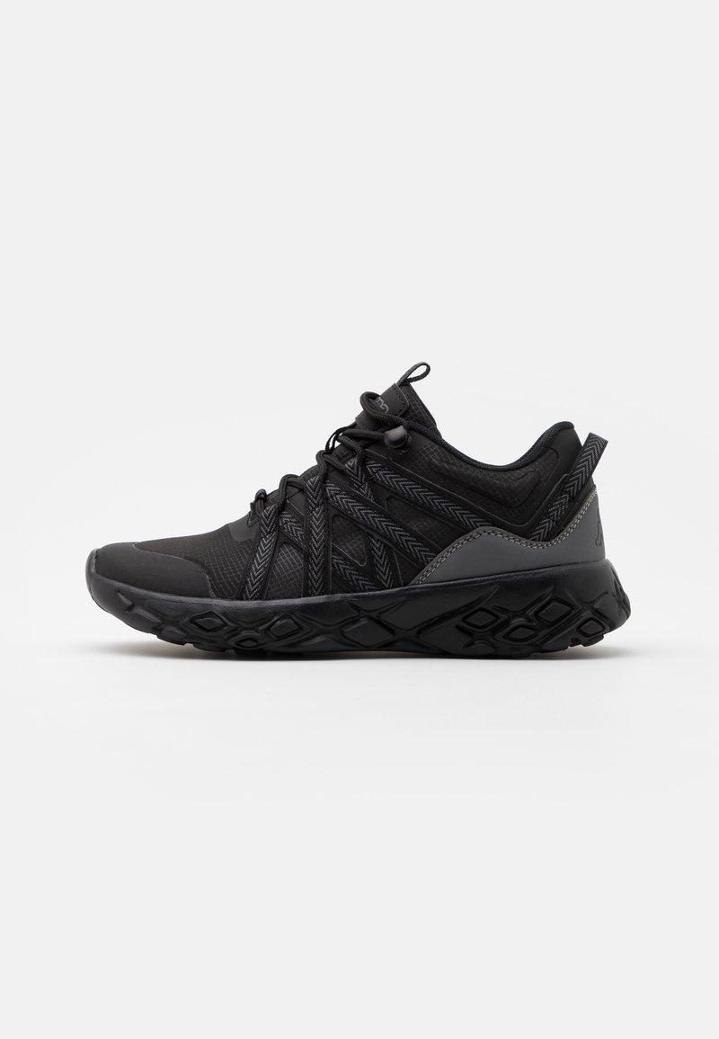 Kappa - SHAWS UNISEX - Sports shoes - black