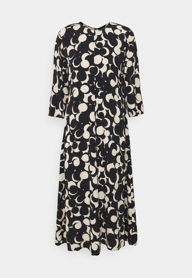 PEILAUS MURIKAT DRESS - Maxi dress - black/beige