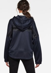 G-Star - VEMERY RELAXED HOODED LONG SLEEVE - Hoodie - sartho blue - 1