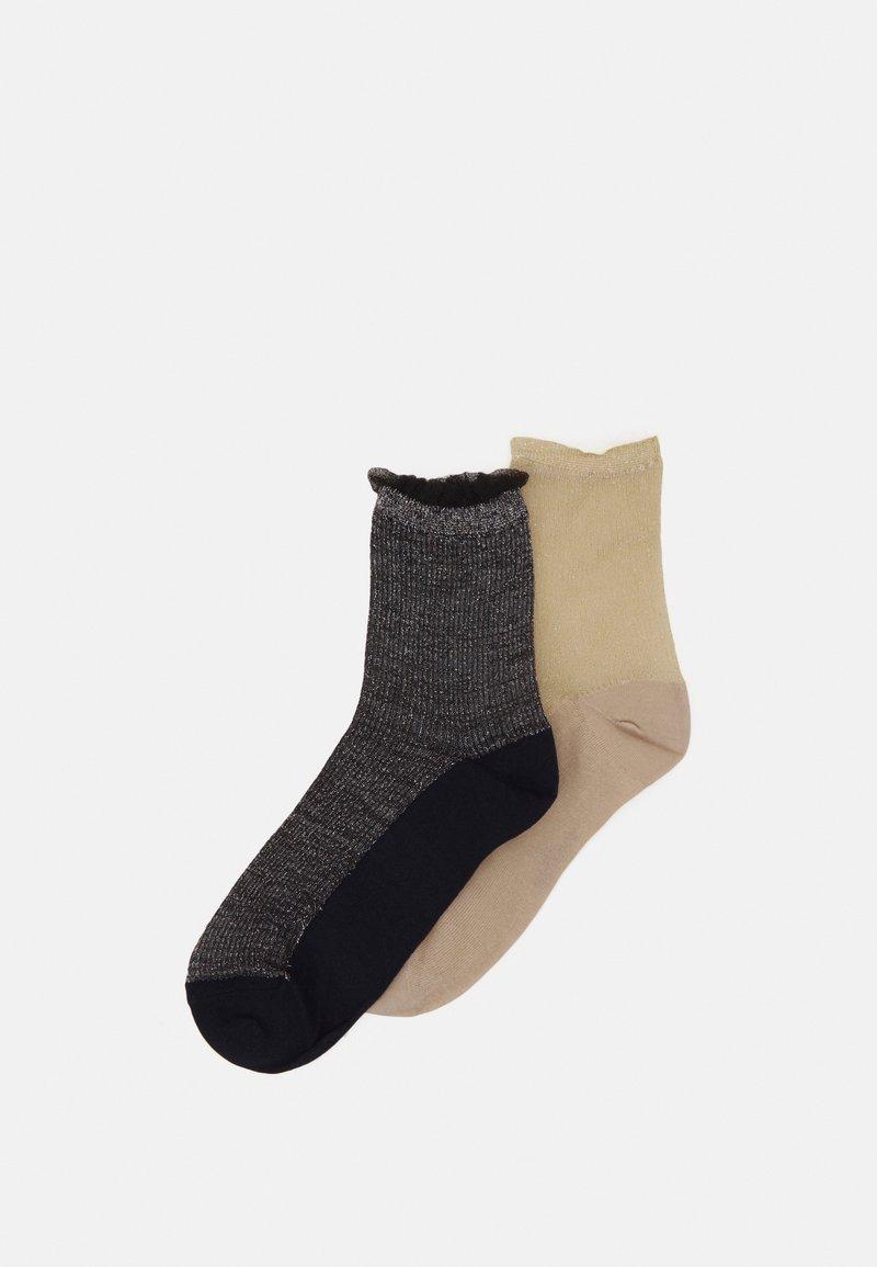 Becksöndergaard - MIX SOCK 2 PACK  - Ponožky - sandstone/night sky
