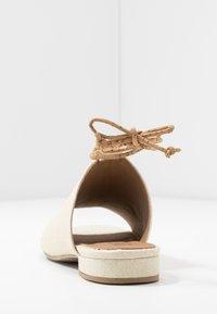 NAE Vegan Shoes - THEIA - Sandaalit nilkkaremmillä - white - 5