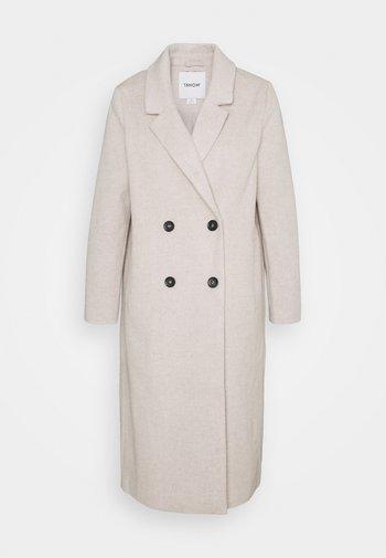 Classic coat - beige dusty light