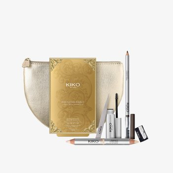 A HOLIDAY FABLE ULTIMATE BROW GROOMING KIT - Makeup set - 02 chestnut