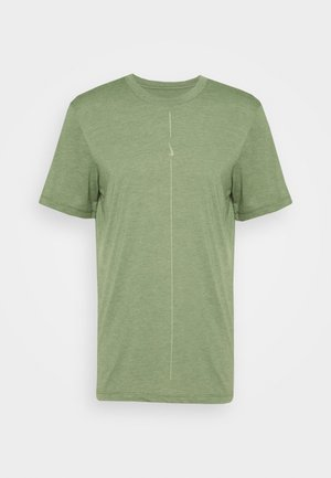 DRY TEE YOGA - Basic T-shirt - galactic jade/oil green