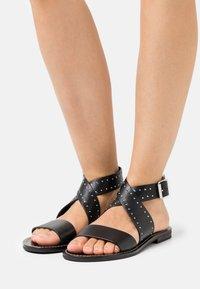 TWINSET - BASSO  - Sandals - nero - 0