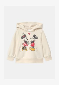 GAP - TODDLER GIRL MINNIE MOUSE LOVE - Hoodie - off-white - 0