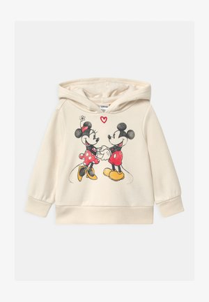 TODDLER GIRL MINNIE MOUSE LOVE - Hoodie - off-white
