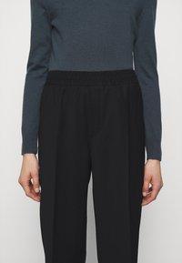 Filippa K - FRANCA COOL TROUSER - Kalhoty - black - 6