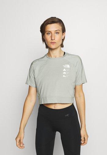 GLACIER TEE  - Print T-shirt - mottled grey