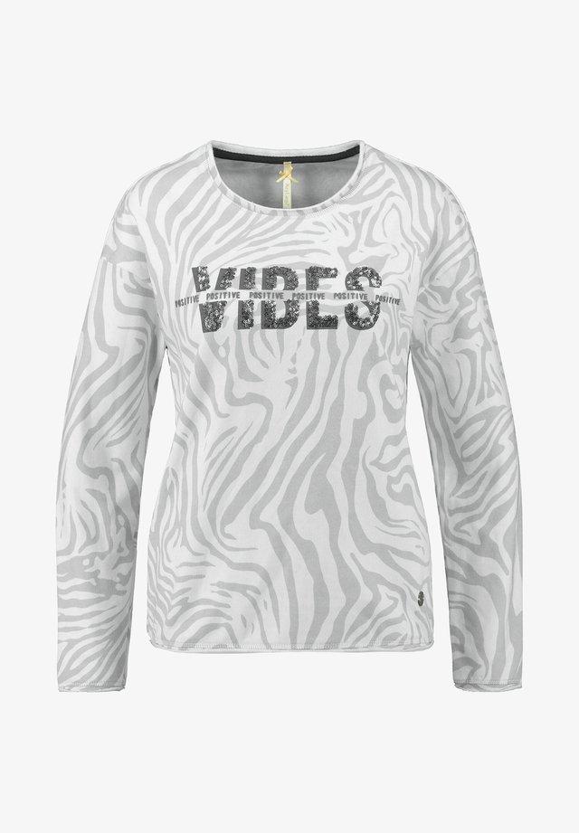 WSW GROOVE - Sweatshirt - silber