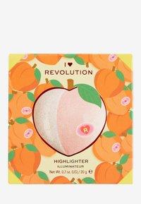 I Heart Revolution - I HEART REVOLUTION TASTY 3D HIGHLIGHTER - Highlighter - peach - 2