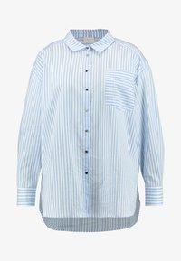 Kaffe Curve - AMINA - Button-down blouse - blue - 4