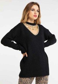 faina - Pullover - black - 0