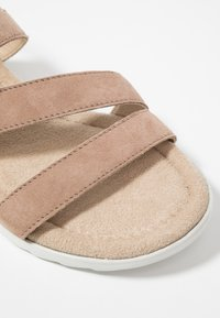 Pier One Wide Fit - Wedge sandals - rose - 2