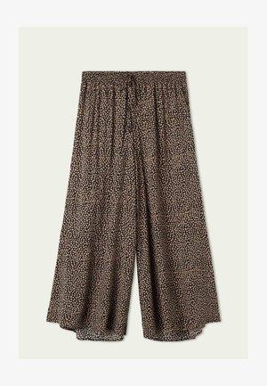 Trousers - nero/phard st new animalier