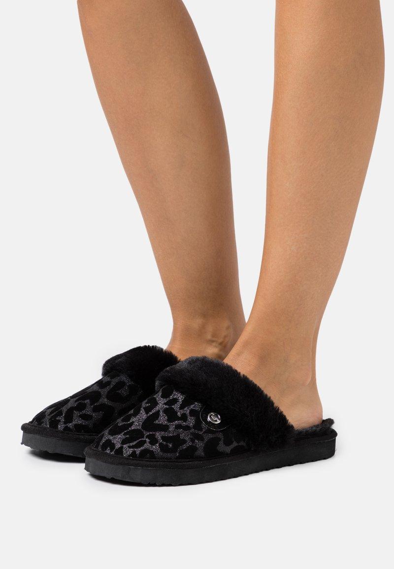 TOM TAILOR - Slippers - black