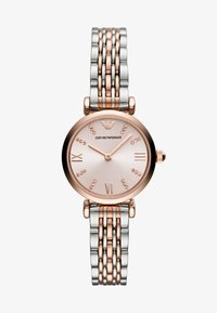 Emporio Armani - Klokke - rose gold-coloured/silver-coloured - 1