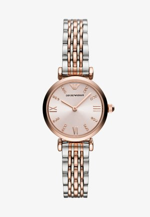 Watch - rose gold-coloured/silver-coloured