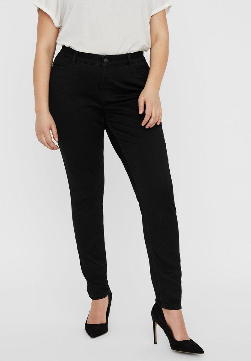 Vero Moda Curve - Jeans Skinny Fit - black denim