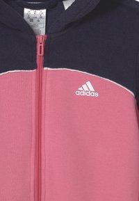 adidas Performance - Zip-up sweatshirt - rose tone/vivid red/white - 2