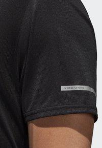 adidas Performance - RUN TEE  - T-shirts print - black - 5