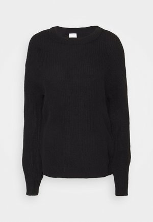 VICHIPPY NECK - Jumper - black