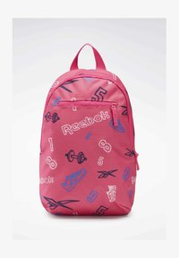 Reebok Classic - ALLOVER PRINT BACKPACK SMALL - Tagesrucksack - pink - 0
