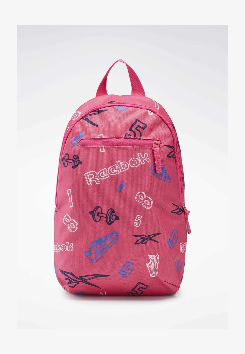Reebok Classic - ALLOVER PRINT BACKPACK SMALL - Tagesrucksack - pink