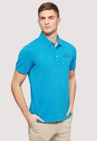 Napapijri - ELBAS - Polo shirt - turquoise - 0