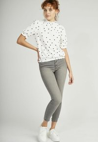 NAF NAF - Print T-shirt - white - 1
