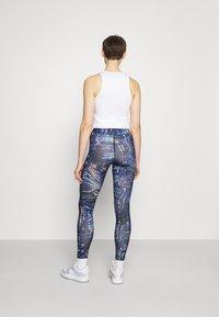 Nike Sportswear - Legging - black/concord - 2