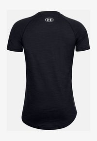 Under Armour - UA CHARGED COTTON SS - Basic T-shirt - black - 1