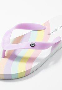 CHIARA FERRAGNI - Boty do bazénu - white/pastel - 2